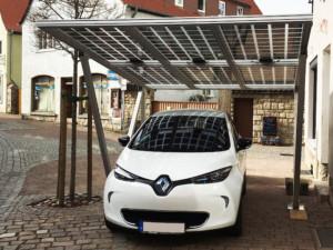 solární carport
